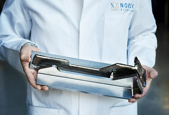Norsk Titanium to Deliver the World's First FAA-Approved, 3D-Printed, Structural Titanium Components to Boeing