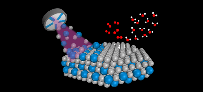 Nanoalloys ten times as effective as pure platinum in fuel cells